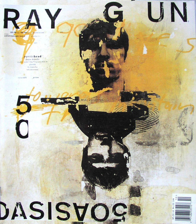 Raygun, couverture, octobre 1997 © David Carson