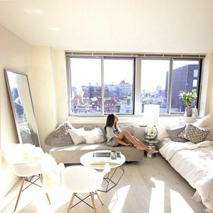 meubler un studio 20m2 voyez les meilleures id es en 50 photos small apartment sm. Black Bedroom Furniture Sets. Home Design Ideas