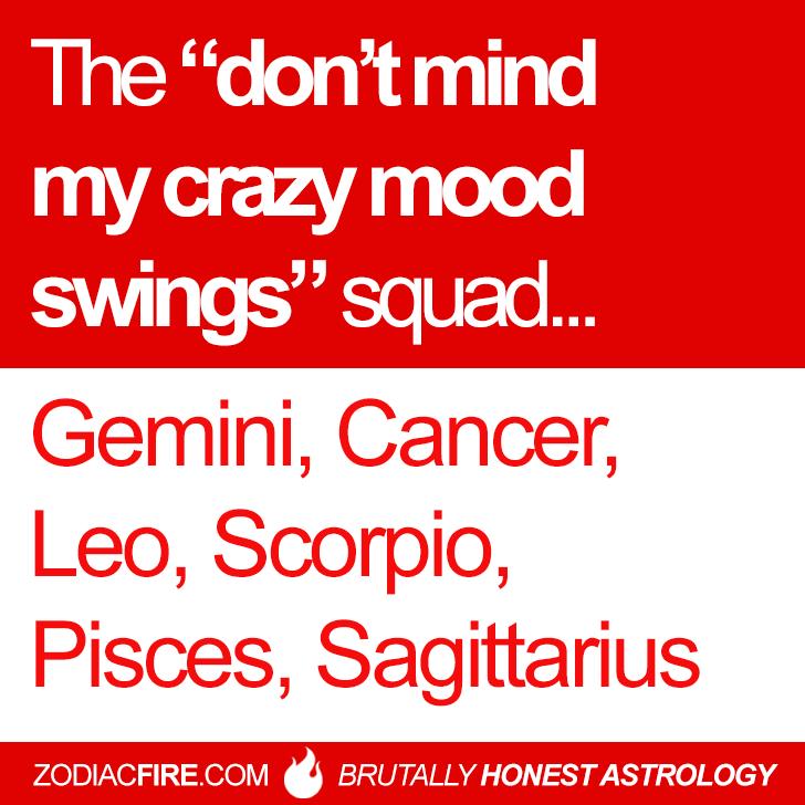 scorpio mood swings astrology