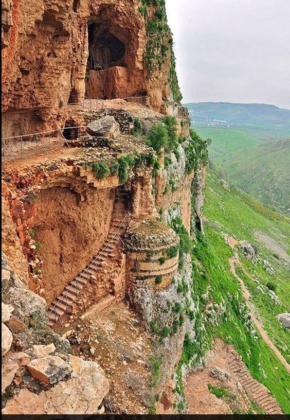 The Cave Fortress, Mount Arbel in Israel https://www.facebook.com/photo.php?fbid=553870441321287=a.143440569030945.18814.140793219295680=1