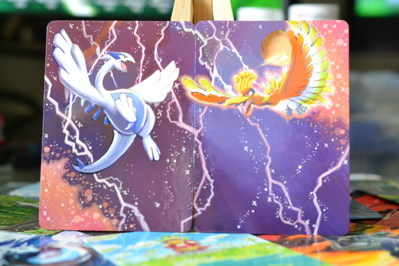 Lunumbra S Extended Art Pokemon Cards Collection Of Painted