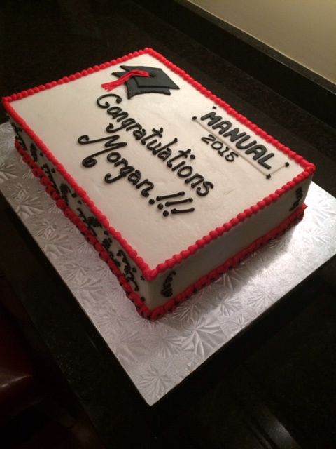 Way To Go Morgan Sheet Cakes In 2019 Congratulations Cake