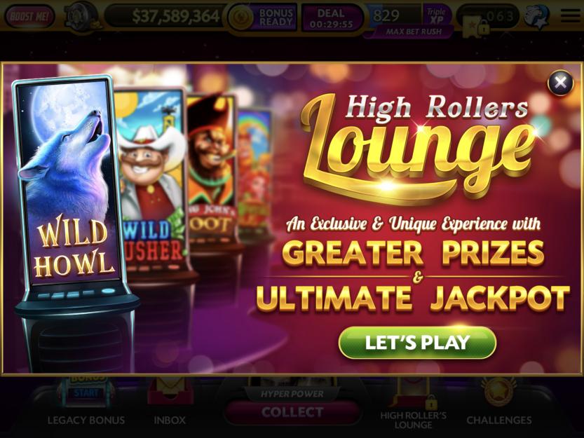 High Roller's Lounge Caesars Slots in 2020 High roller