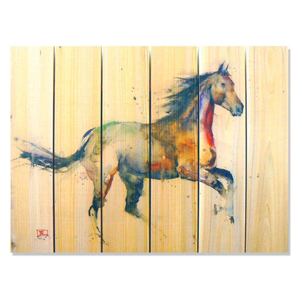 Gizaun Art Signature 1 Free Spirit Indoor/Outdoor Wall Art - Hang ...