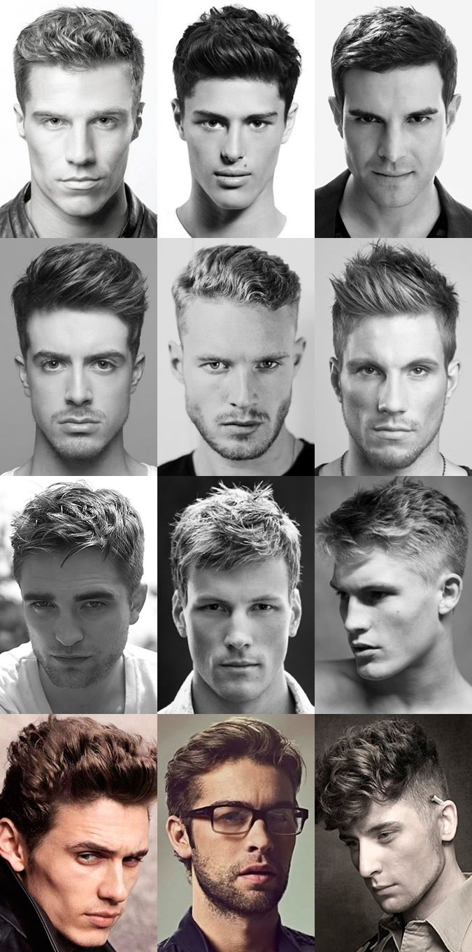 Mens Short Hairstyles 2015 Long Face High Hairline Google Search