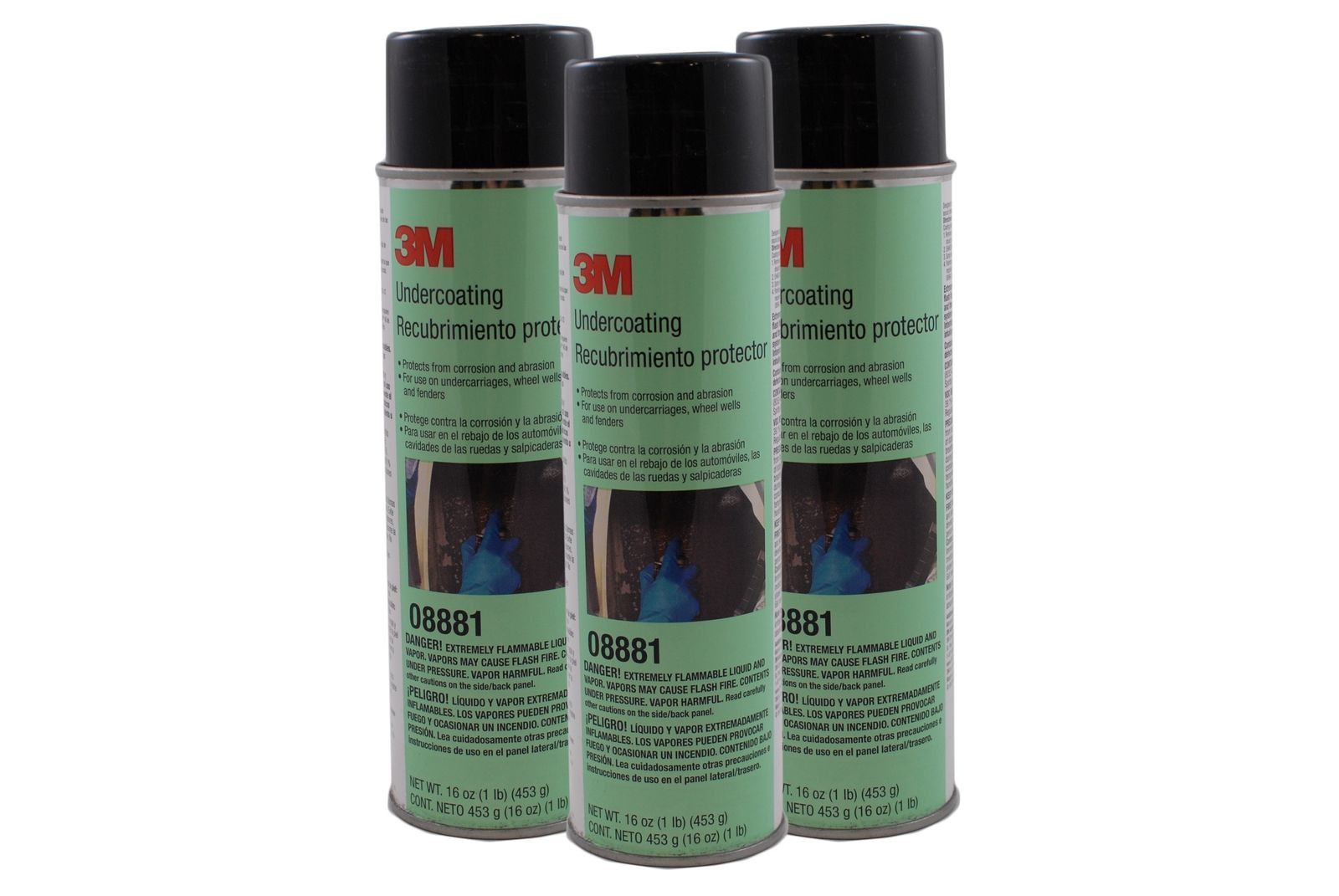 Rubberized Undercoating 3m 8881 Paint Supplies Home Improvement