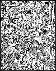 Doodle Art Alley - great coloring books and doodling instructions ...