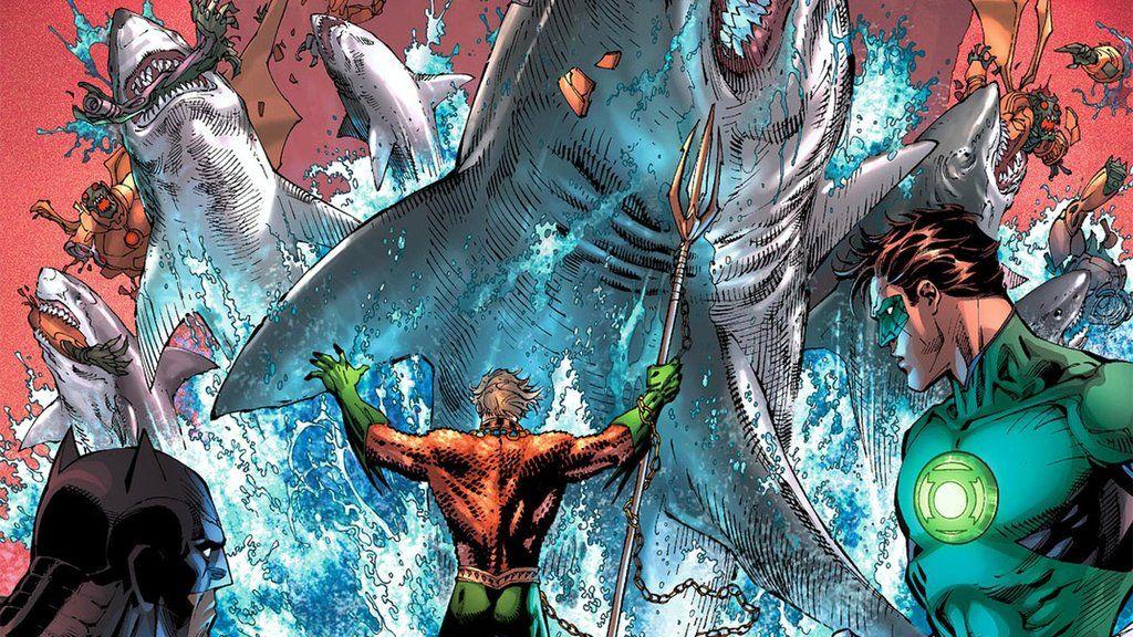 Aquaman Comic Wallpaper