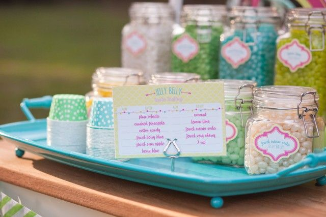 Anders Ruff Custom Designs, LLC: Brynne's 13th Birthday – Outdoor Movie Night with Jelly Belly Concession Stand
