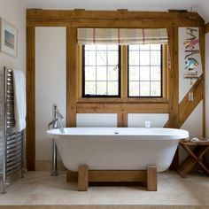 clawfoot tub with diy wooden base - Google Search | Home designs ...