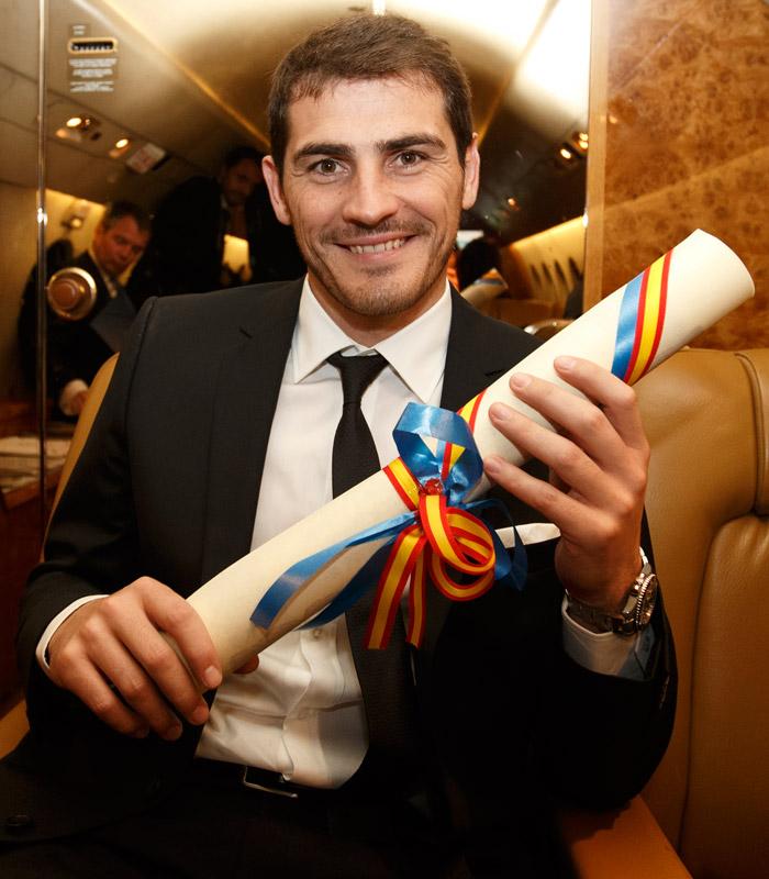 Iker, premio Principe de Asturias