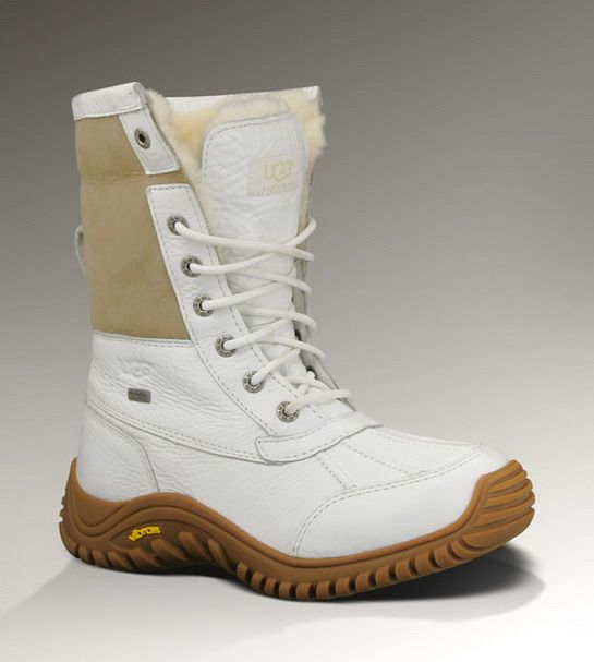 Ugg 5469 Adirondack II Boots White For UK