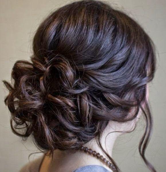 Penteados de festa para casamentos  à noite e durante o dia