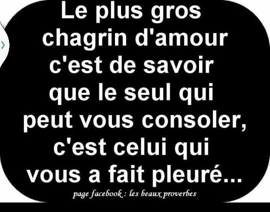 Chagrin Damour Citation Phrase Citation Et Phrase