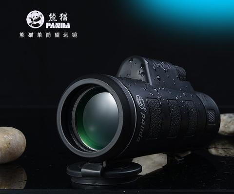 New panda hd vision scope 35x50 dual focus zoom monocular telescope