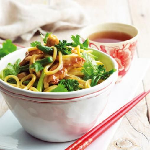 Chicken and noodles with plum sauce australian healthy food guide chicken and noodles with plum sauce forumfinder
