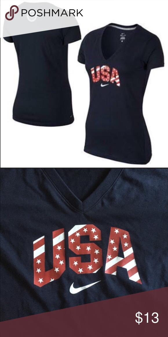 9d35141f NWOT Nike Team USA Olympic Dri Fit Tshirt Nike Team USA Olympic Dri Fit  Tshirt -