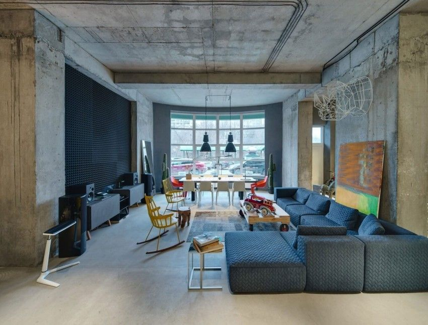 Industrial Meets Stylish in the Dizaap Office