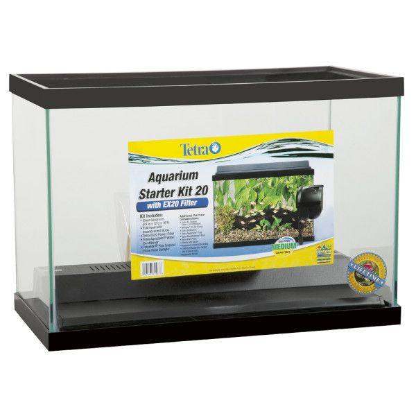 Petsmart Com Fish Aquariums Tetra 20 Gallon Aquarium Starter Kit With Ex20 Filter 20 Gallon Aquarium Aquarium Aquarium Shop