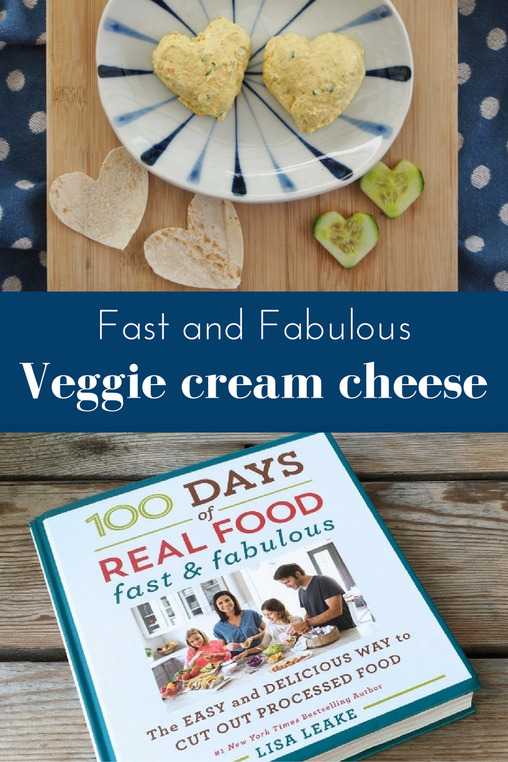 Veggie cream cheese from 100 days of real food fast and fabulous veggie cream cheese from 100 days of real food fast and fabulous healthy food recipeseasy forumfinder Image collections