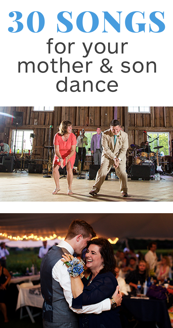 30 Mother Son Dance Songs For Your Wedding Reception Member Board