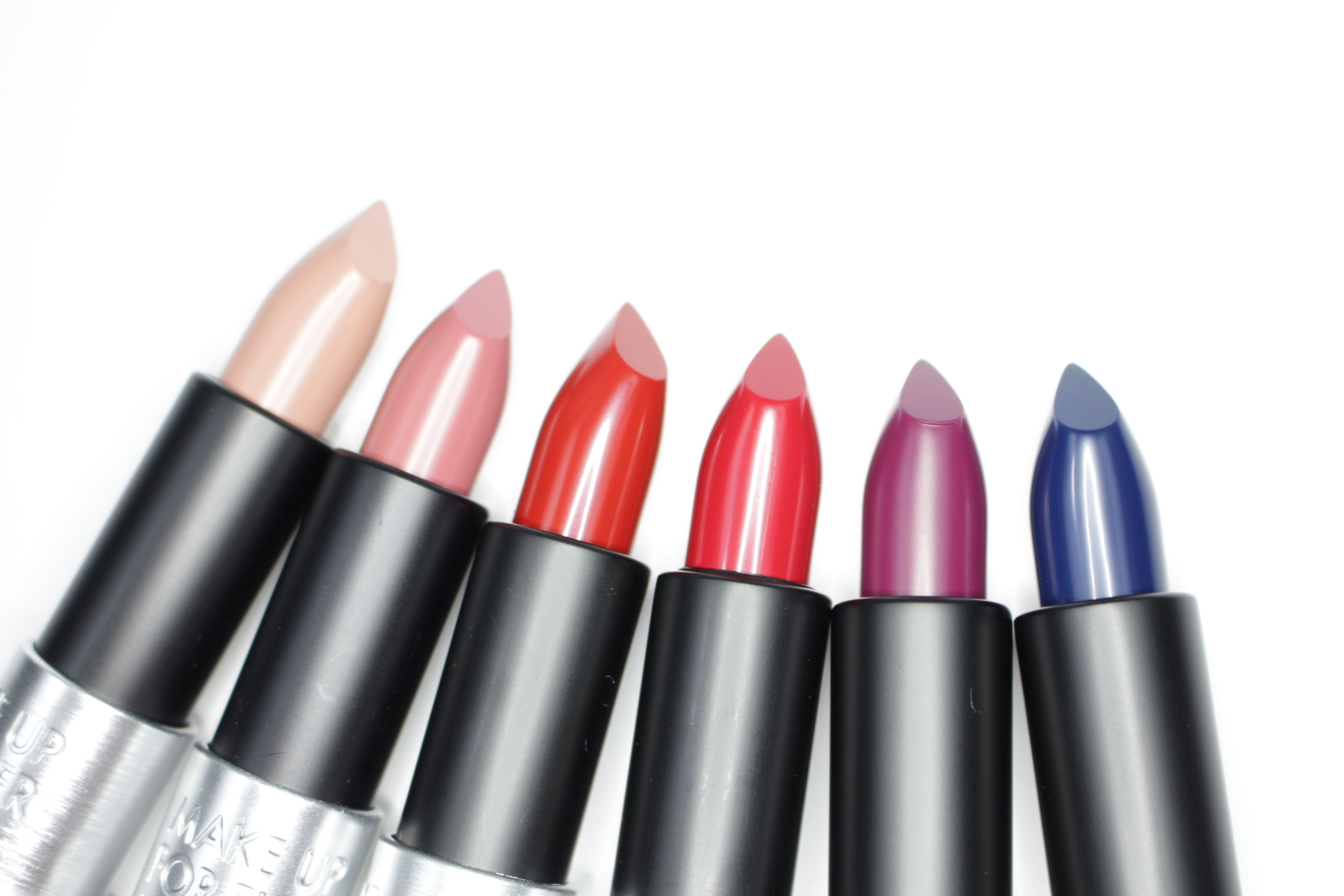 Make Up For Ever New Artist Rouge Lipsticks. Review and