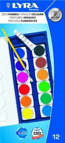 Lyra Watercolor Paint Set 12 Colors By Lyra 19 49 Sturdy