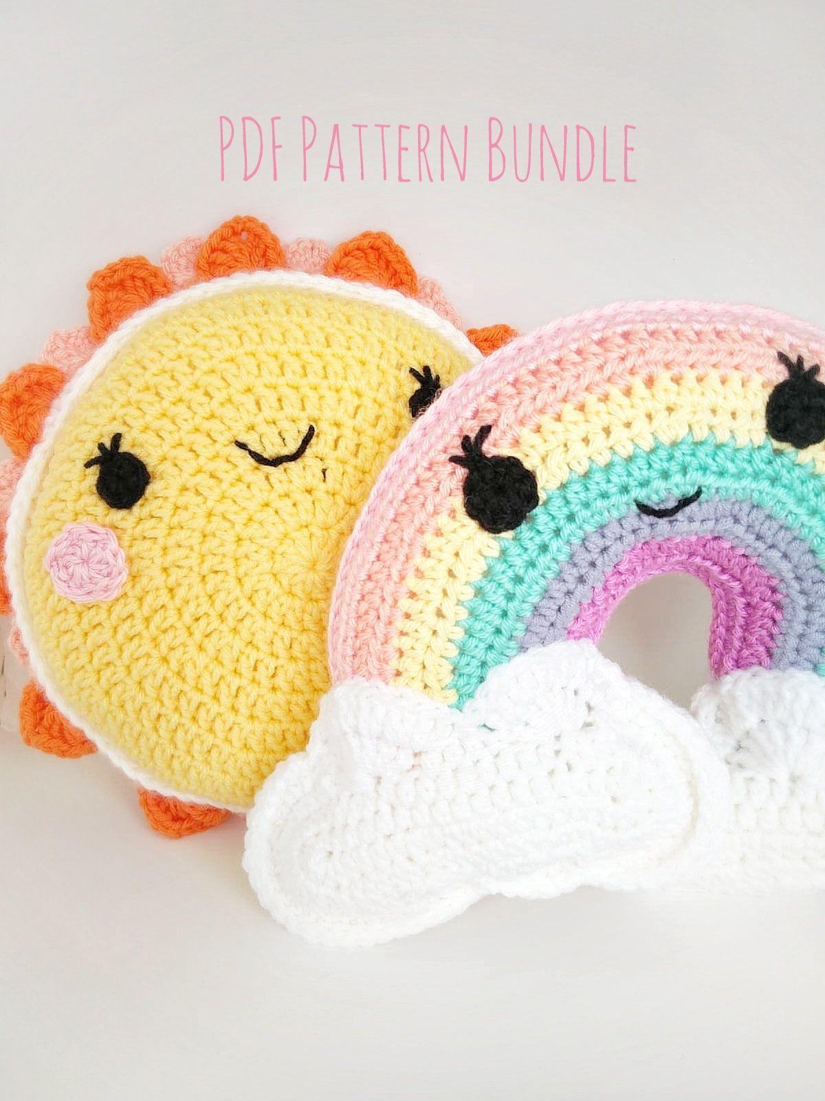 "Amigurumi – Crochet Small Sun ""Sunshine"" - premium & free patterns ... | 1600x1200"