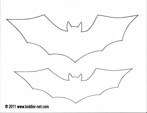 Paper Bat Printout  Halloween    Paper Bat Bats And