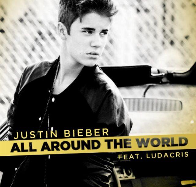 Justin Bieber Around The World Lyrics Ludacris Piano Sheet