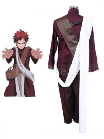 Cosplay · Naruto Gaara 3th Cotton Polyester Cosplay Costume