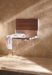 Cedar Fold-up Shower Seat & Cedar Fold-up Shower Seat | Bath Planet no-chemical clean bathrooms ...