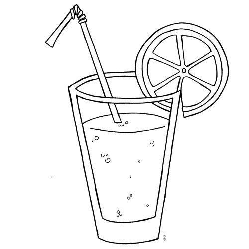 Dessin coloriage cocktail coloriages pinterest - Dessin de verre ...