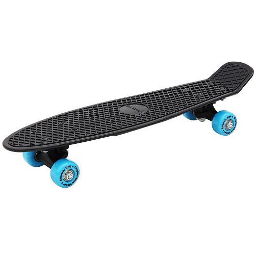 Spielgerate Fur Draussen Spielzeug Deubaxxl Skateboard Spielgerat Schwarz Blau
