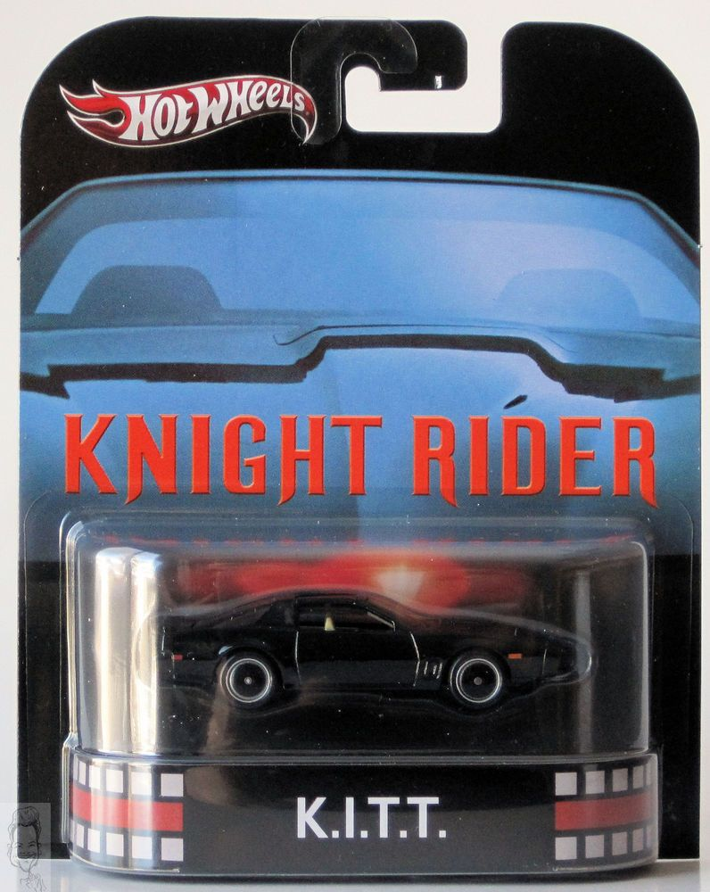 Mattel legends 1 24 1969 hot wheels twin mill concept car electronic - 2013 Hot Wheels Retro Entertainment Knight Rider K I T T
