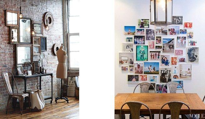 Decorar las paredes con mosaicos o collages idee per la for Casa mia decoracion