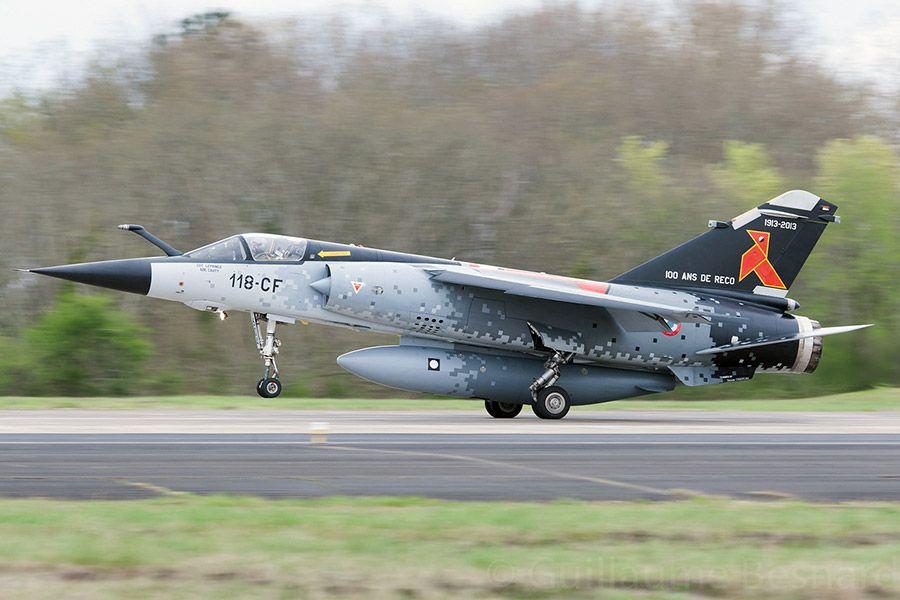 Dassault Mirage F1CR de l'ER 2/33 Savoie, 100 ans de la BR 11 Cocotte