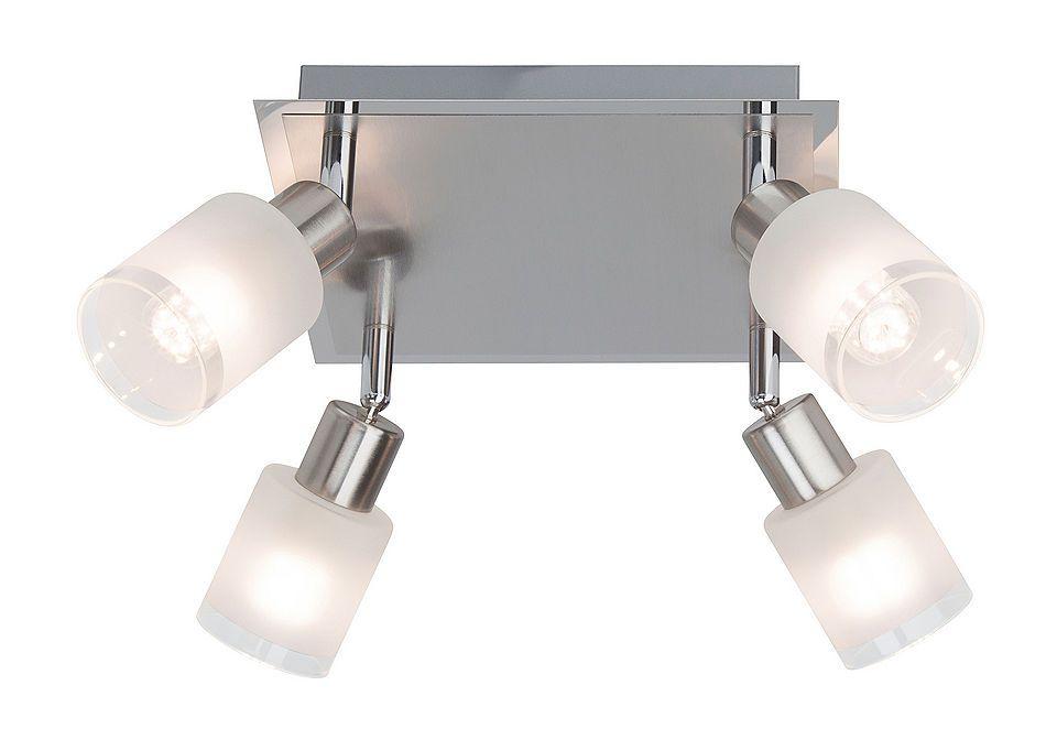 LED-Deckenleuchte (4-flg), Brilliant Leuchten Jetzt bestellen - Schlafzimmer Lampe Led