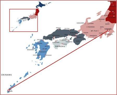 Storstad Och Havet 10 Dagar Japan Japan Havet Och Resmal