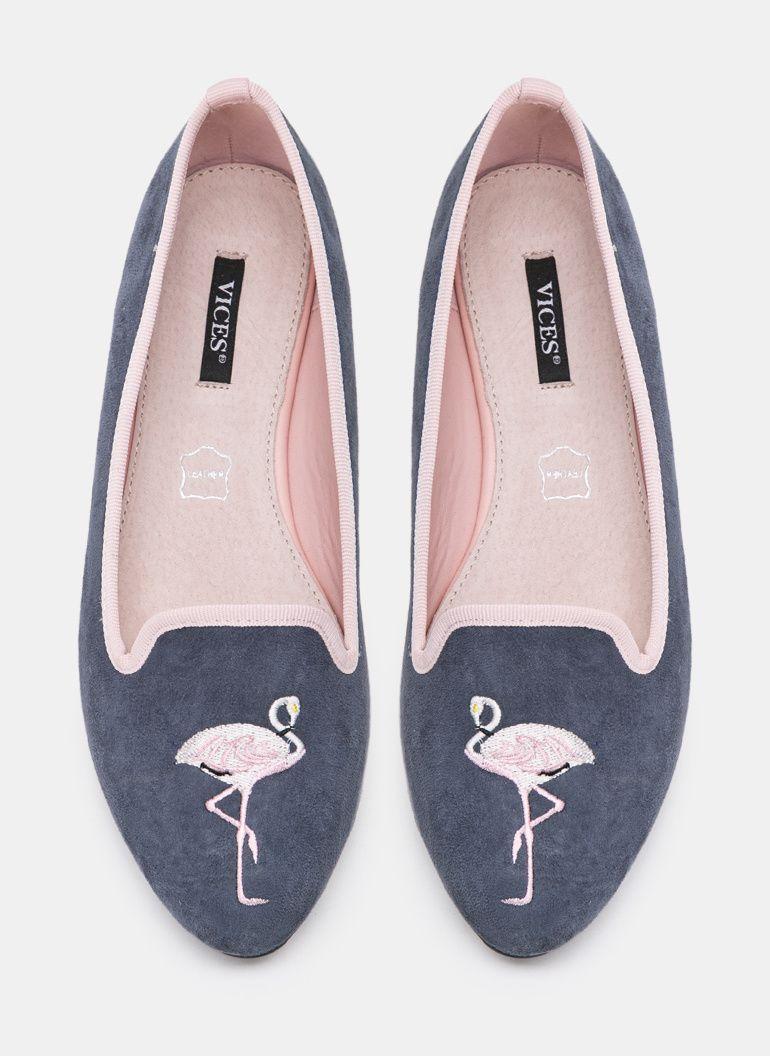 Granatowe Mokasyny Famous Flamingo Polbuty Mokasyny W Deezee Pl 1179 13 Shoes Loafers Pink Flamingos