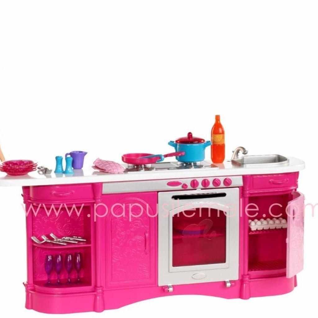 Barbie Kitchen Cooking Set | toys | Pinterest | Barbie kitchen ...