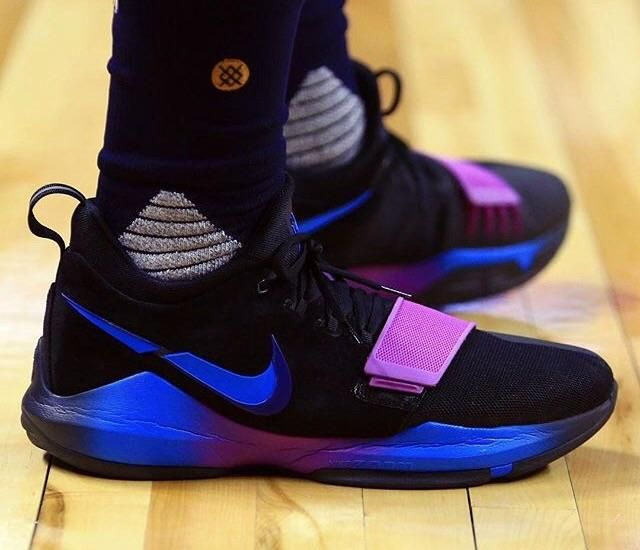 brand new 776d3 b31a9 Paul George debuted a new Nike PG 1.