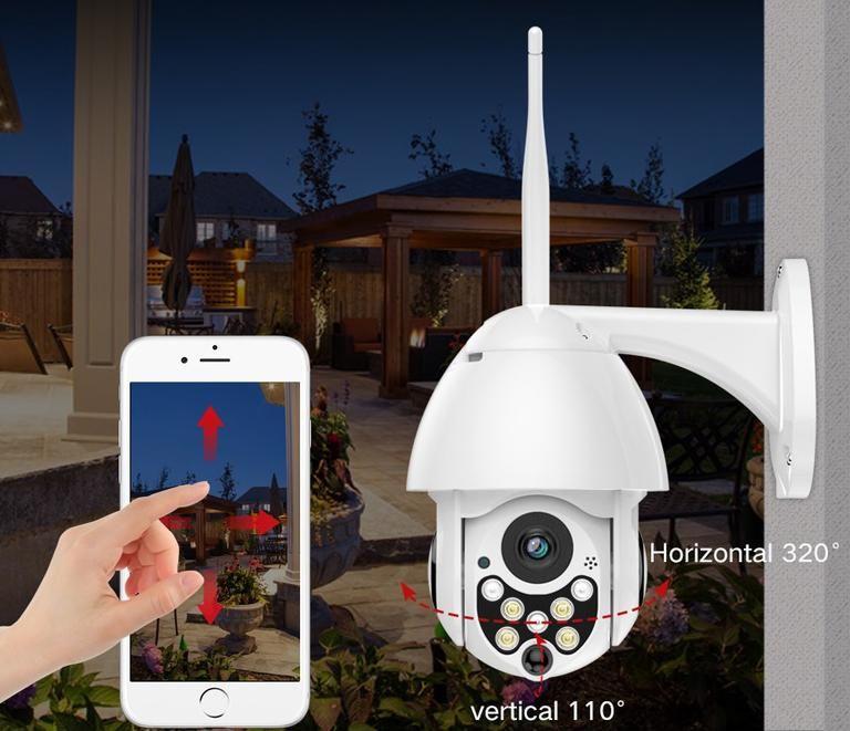 Wave Cam Outdoor Wifi Camera In 2020 Aussenkamera Holzverkleidung Haus Wifi Kamera