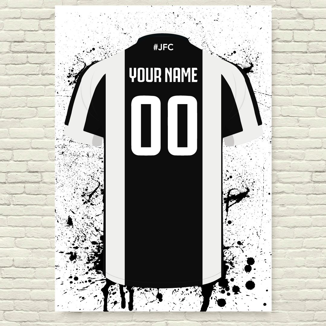 finest selection 01d32 2183d Juventus Football Posters - Football Posters - Personalised ...
