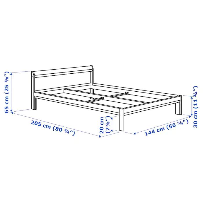 Neiden Bettgestell Kiefer Ikea Deutschland V 2020 G Karkas Krovati Krovati I Sosna