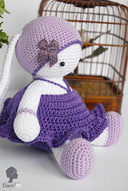 Ravelry: Lulu Tulipe & Tutu pattern by Dam\'M (Alexia Giraud ...