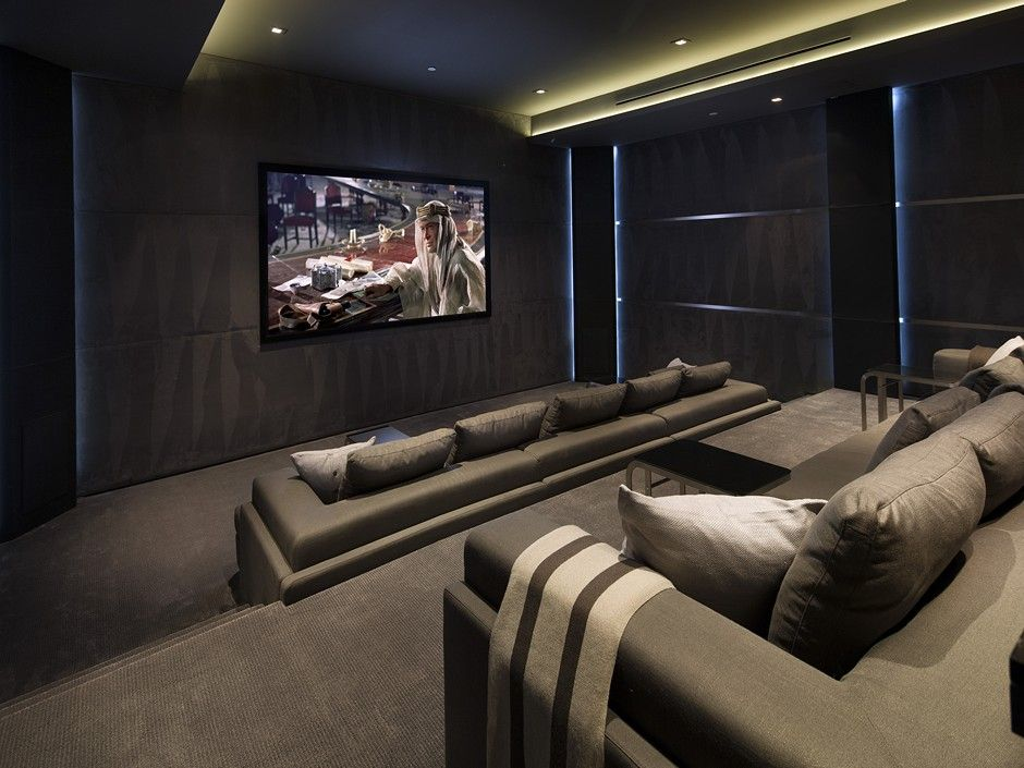 Deal Of The Day This Contemporary Gem Is Yours For 38 Mil Home Cinema Room Home Home Theater Design