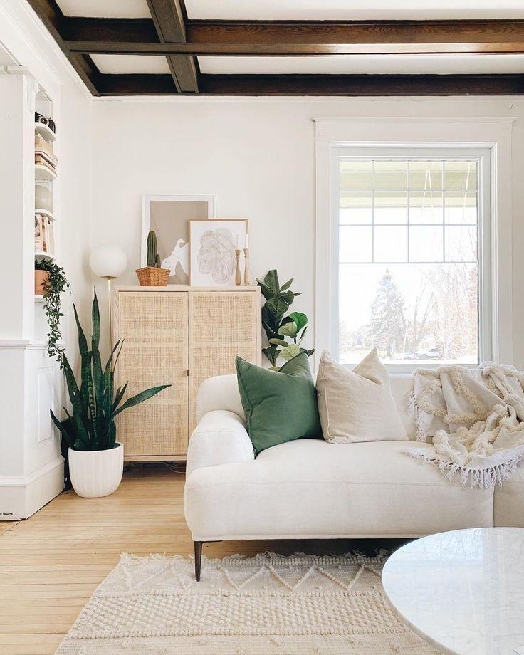 #neutraldecor  #livingroom #room, #boho living room, boho style, home design, neutral decor