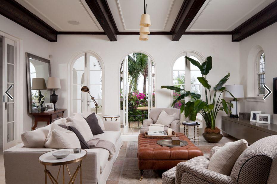 Scandinavisch Interieur Sydney : Living room manly mediterranean sydney strelitzia nicolai