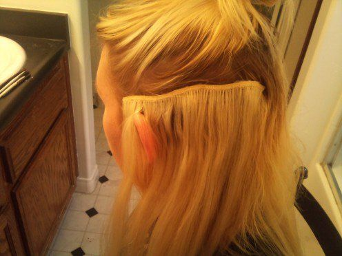 tips and tricks how to put in hair extensions with clips